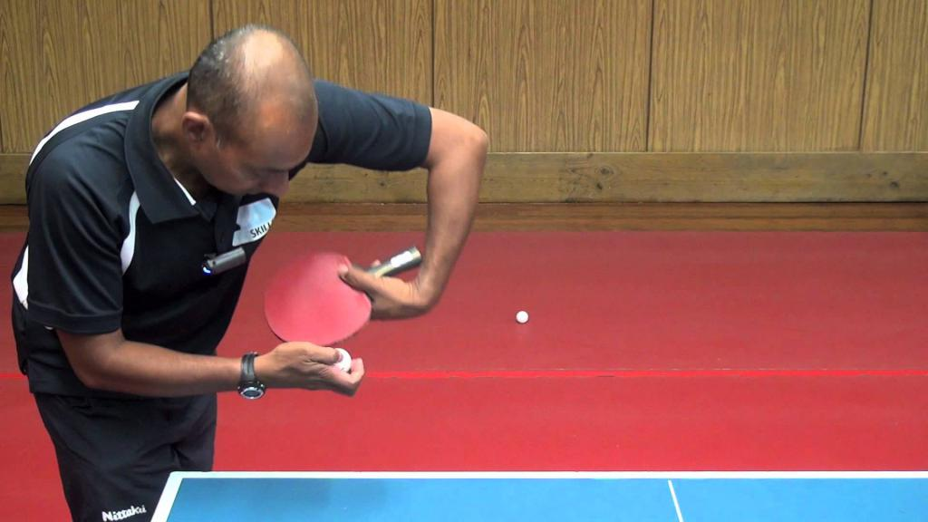 table tennis how to hold a racket and beat