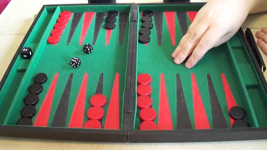 short backgammon how to arrange chips
