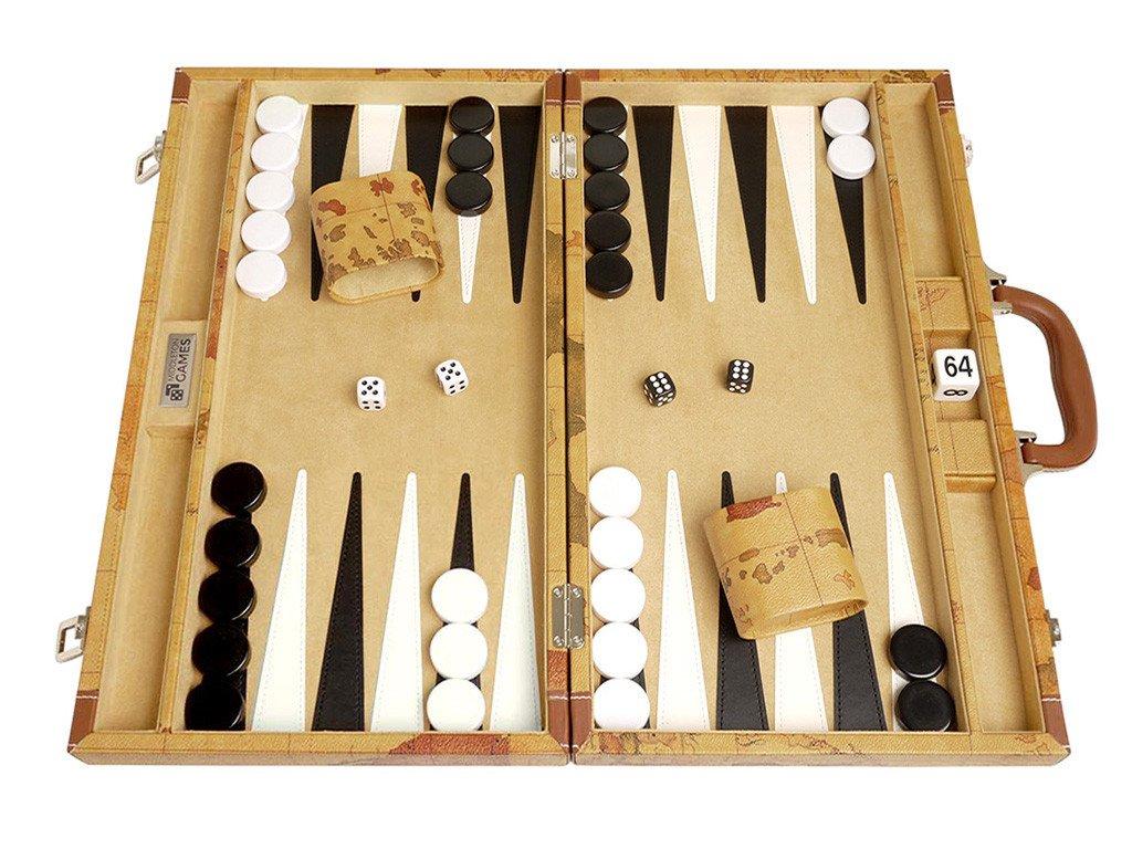 how to arrange short backgammon