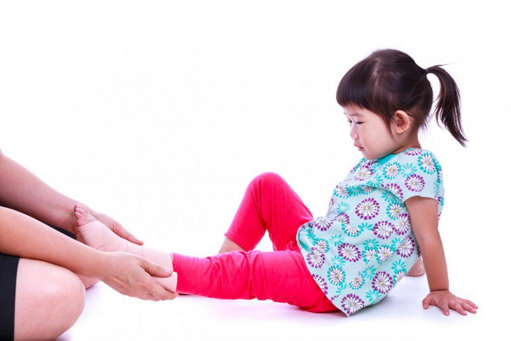 х образная деформация ног у ребенка