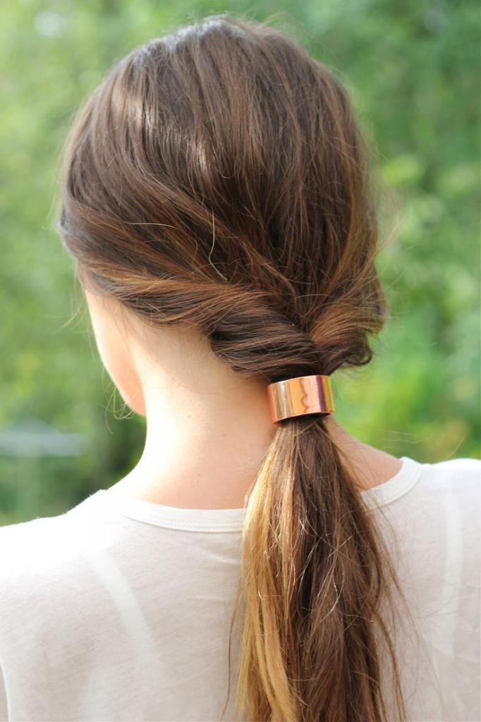 Прически с помощью петли для волос: оригинальные идеи и варианты, техника выполнения, фото