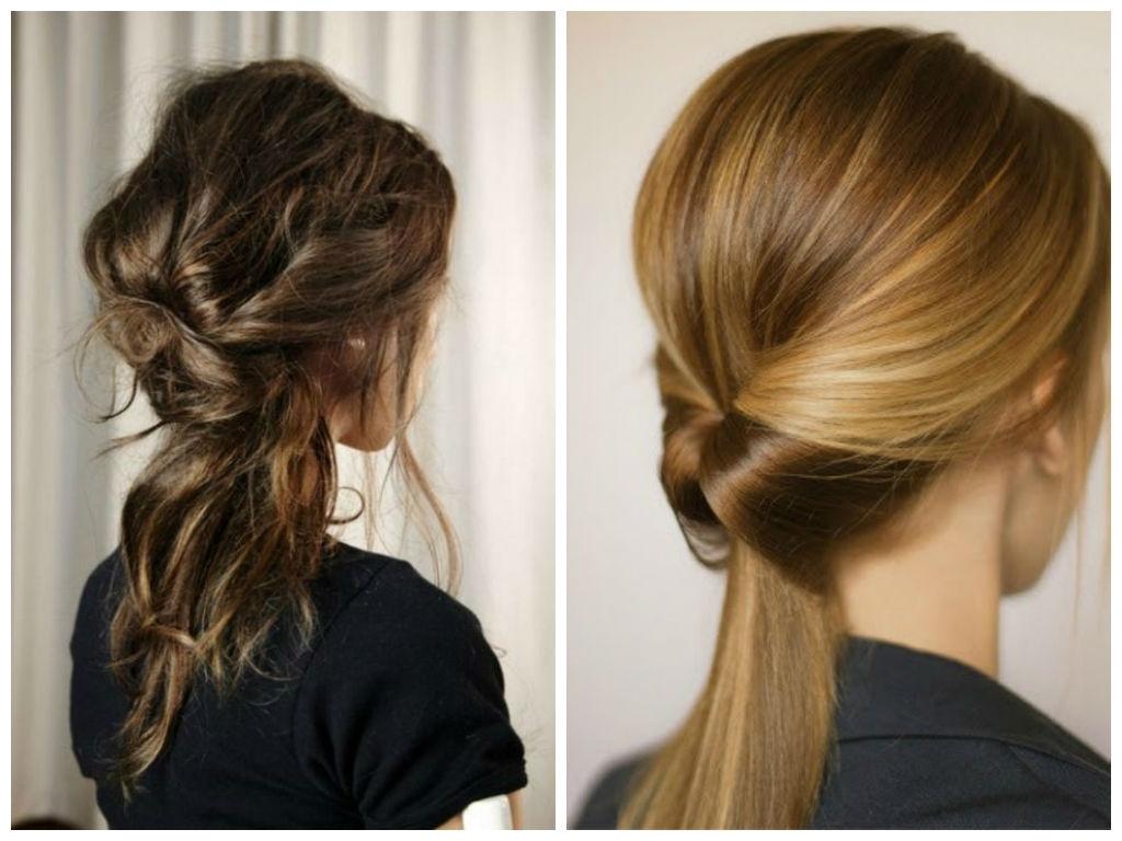 косы с петлей для волос