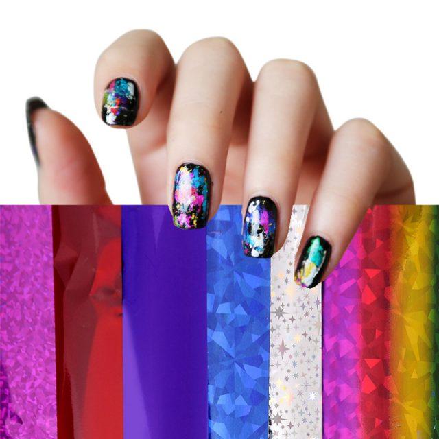 Foil for manicure