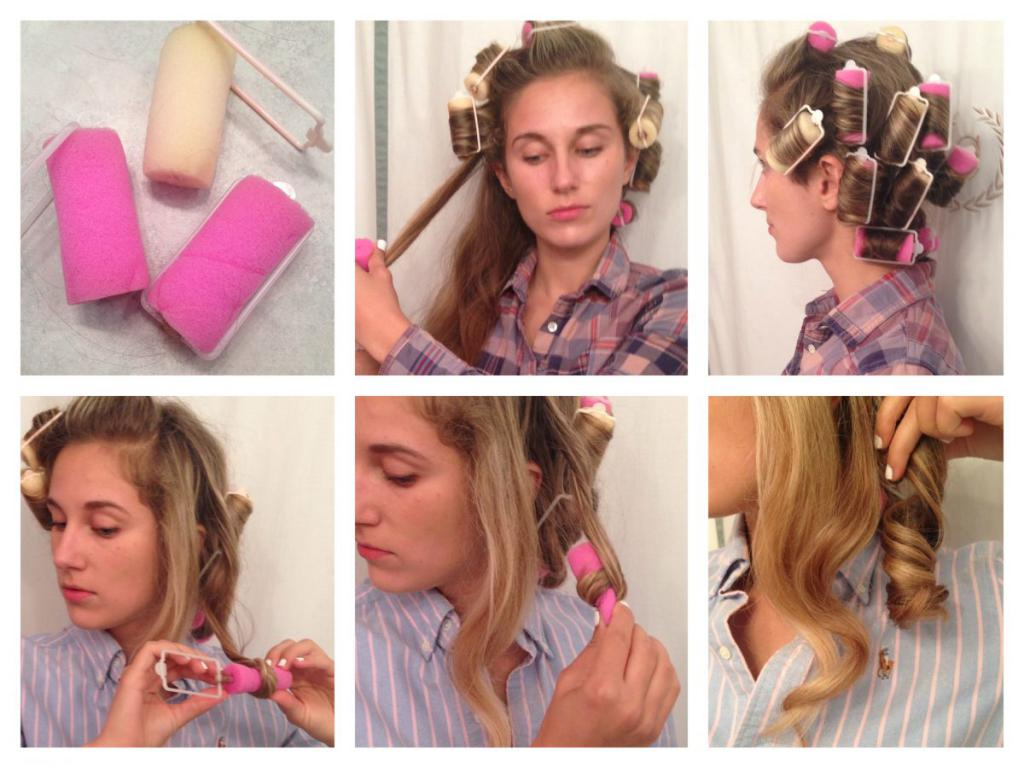 Как накрутить волосы на ночь: советы и способы