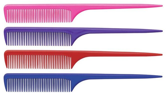 Деление волос на зоны и проборы: виды проборов и разделение в домашних условиях