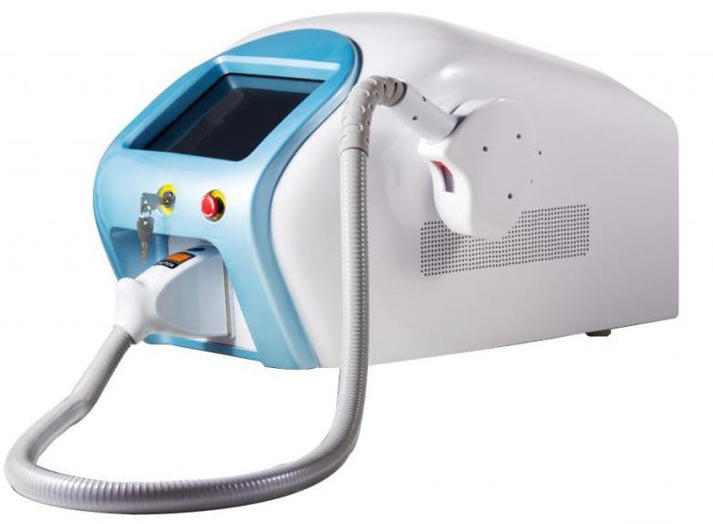 Diode laser epilator