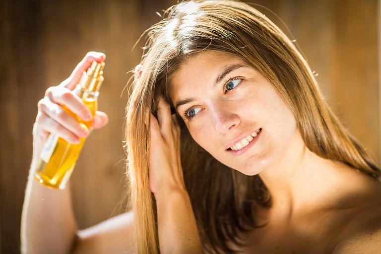 Несмываемый спрей для волос