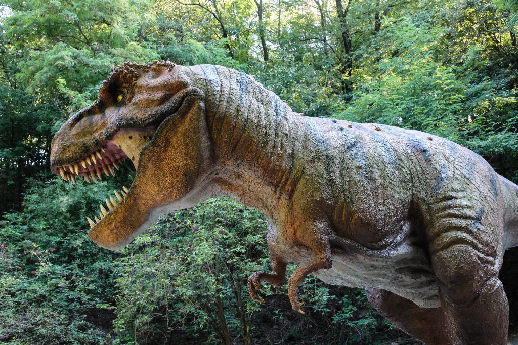 Тираннозавр - самый страшный