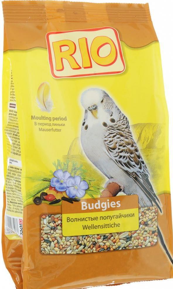 """Корм """"Рио"""" для волнистых попугаев: состав, виды и отзывы"""