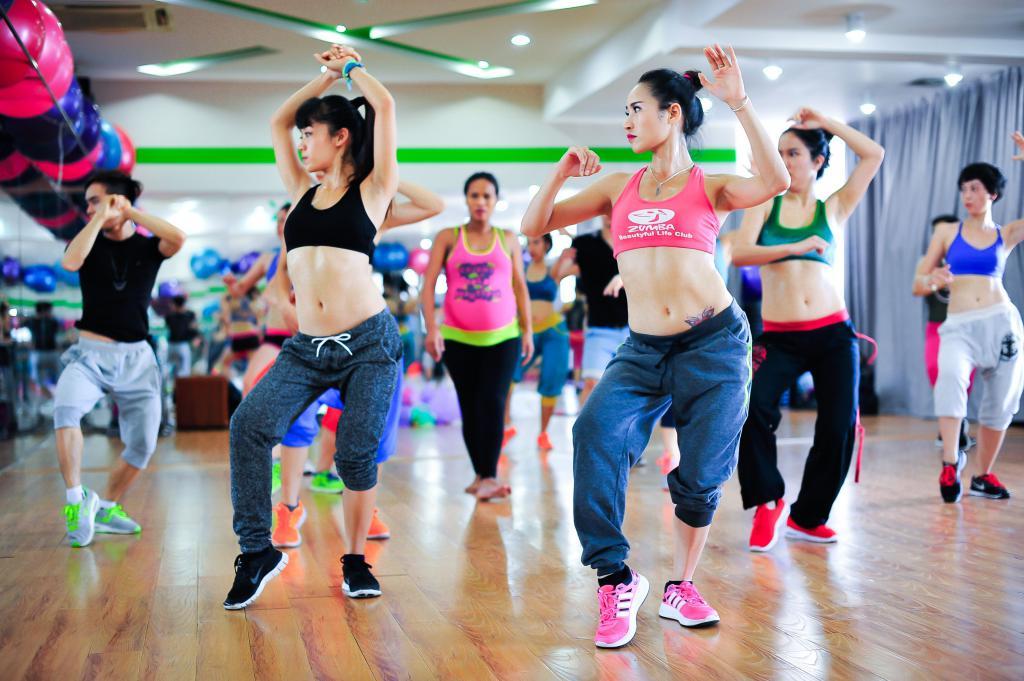 Зумба танце для похудения
