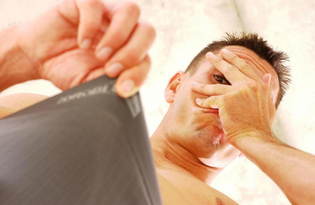 Мужская интимная прическа своими руками