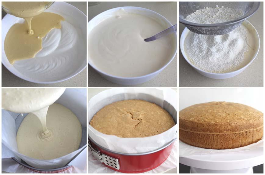Приготовление торта под мастику