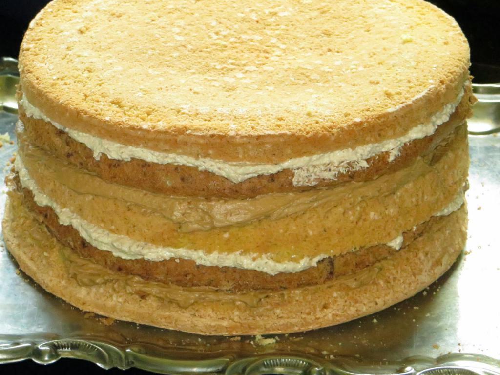 Коржи бисквитные для торта рецепты с фото
