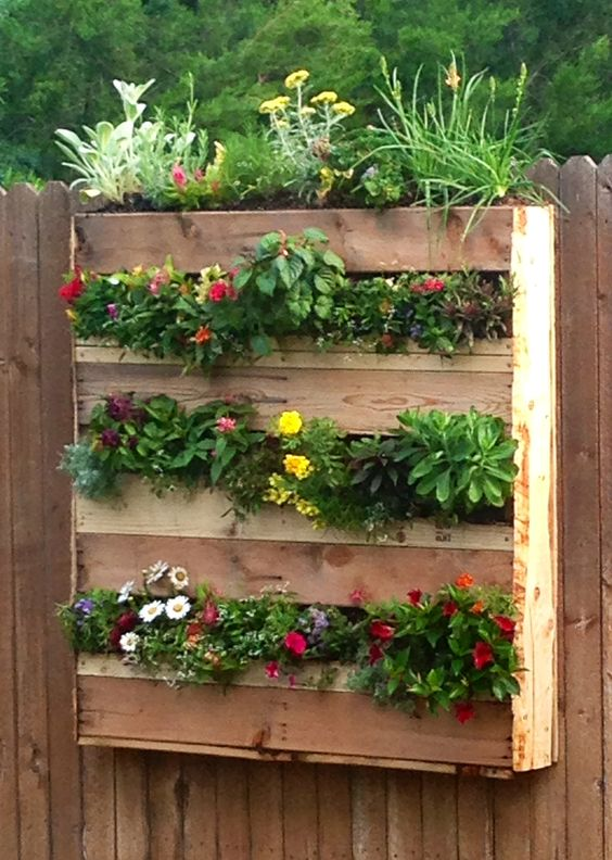 вертикальное расположение огорода