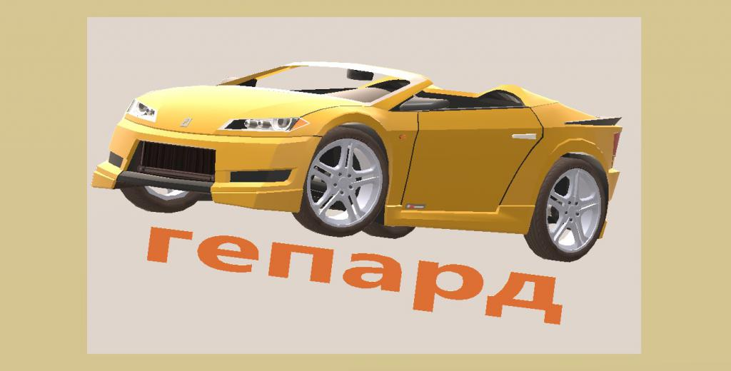 авто по имени гепард