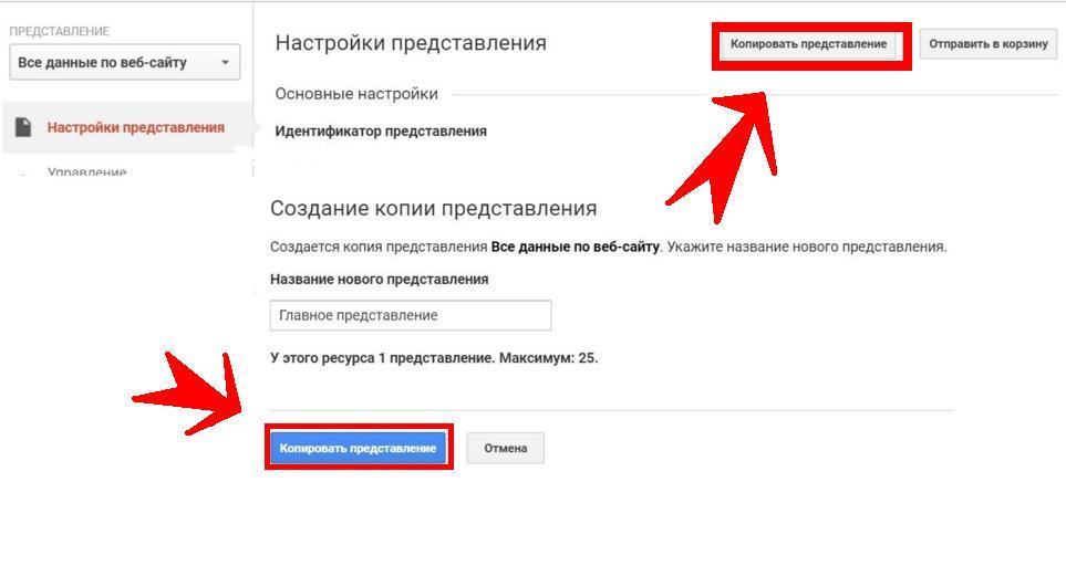 copy view customization