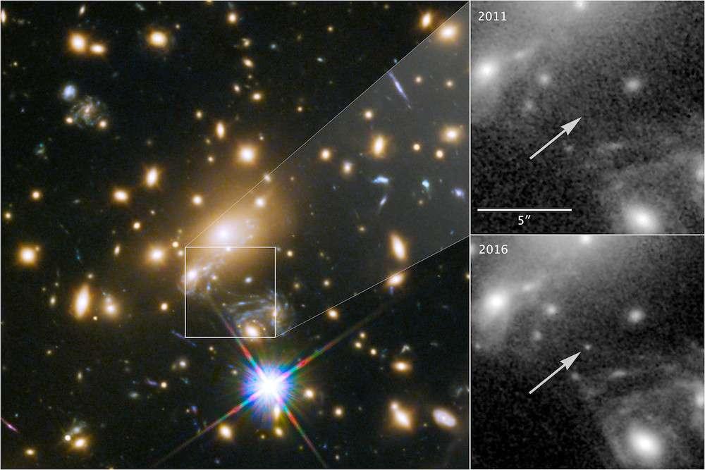 Самая дальняя звезда LS1