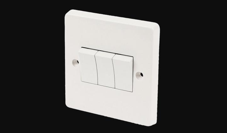 Three-key switch