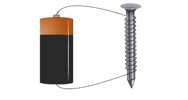 Схема электромагнита
