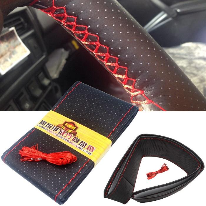 Steering wheel braid