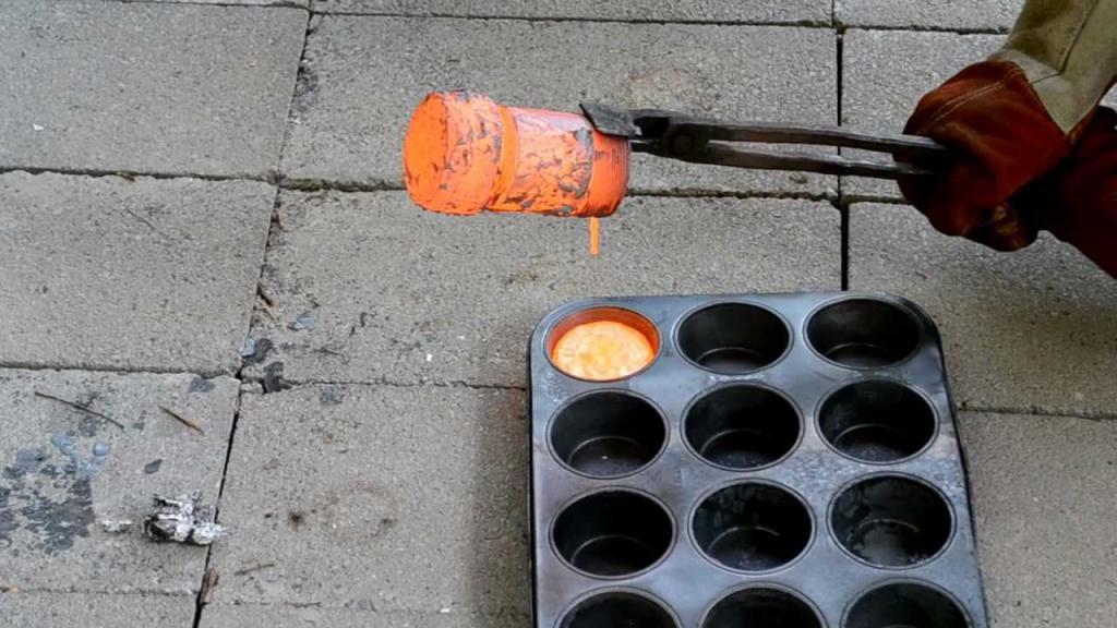 Расплавляем медь в домашних условиях 455