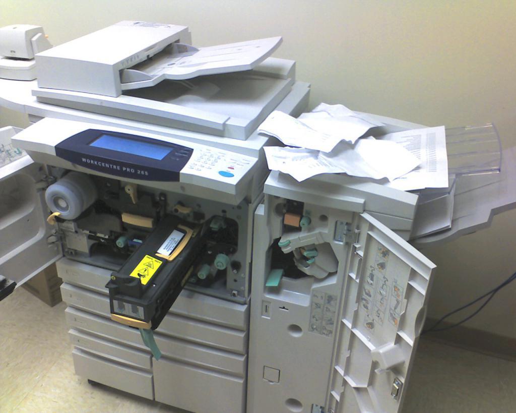 Printer Repair When Paper Jams