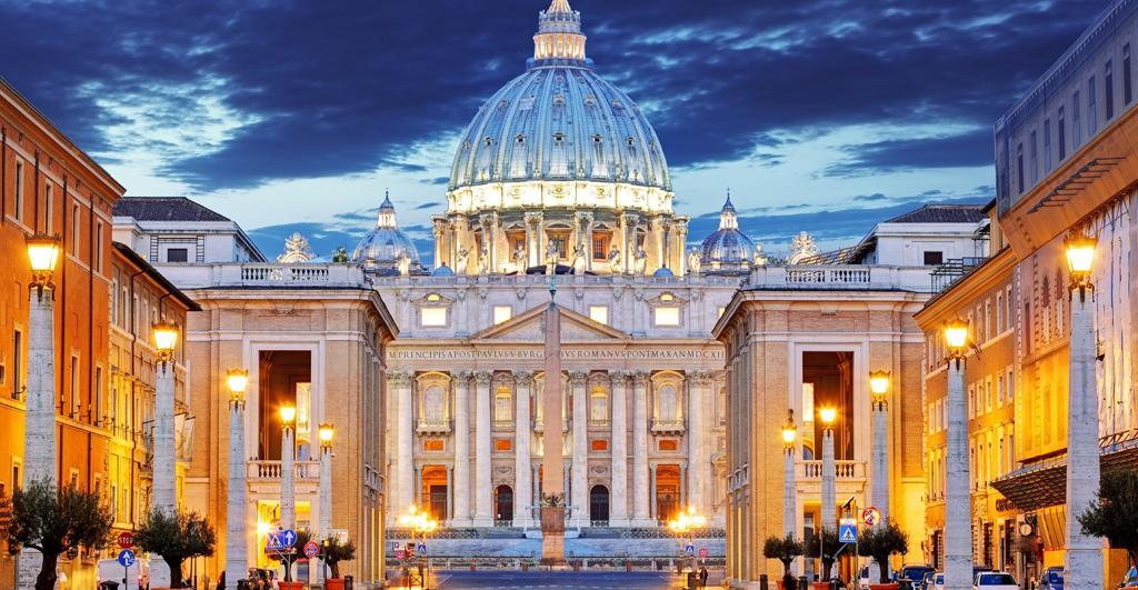 Маленькое государство Ватикан.