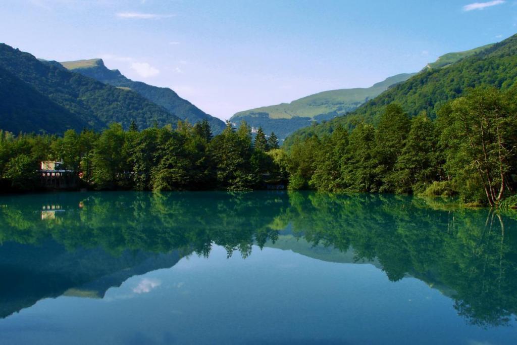 Голубые озера.