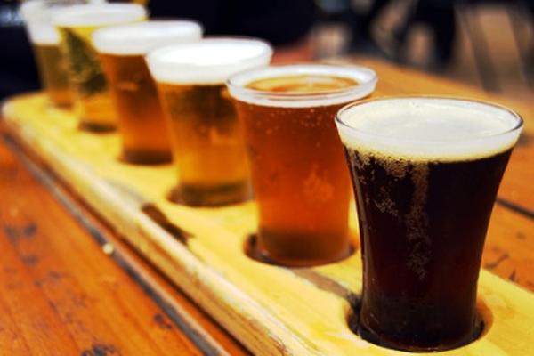 несколько видов пива
