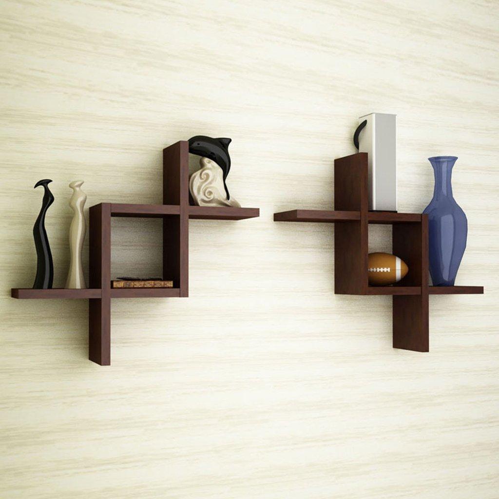 original look of a shelf