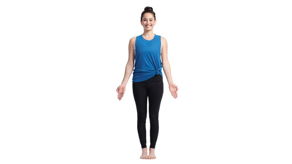 tadasana mountain yoga pose