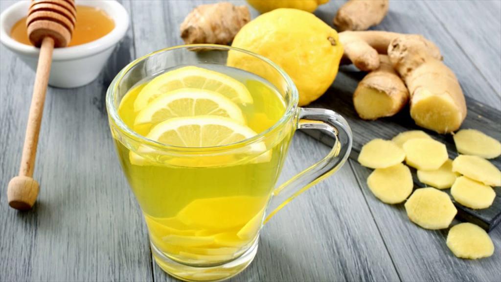 Как сделать напиток с имбирем и лимоном  459