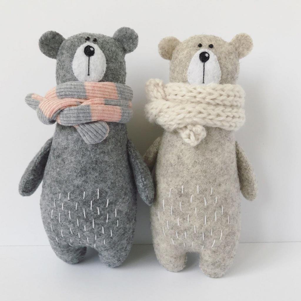 Красивые мягкие игрушки своими руками