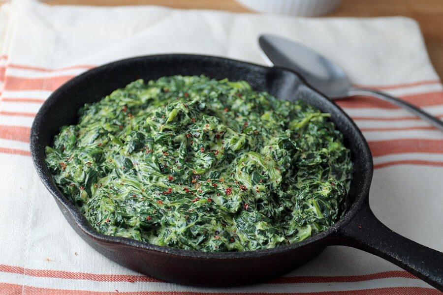 этой блюда из шпината замороженного рецепты с фото время