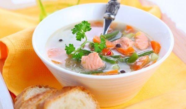 классический рецепт ухи из красной рыбы