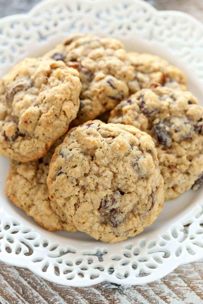 dietary oatmeal cookies with banana without eggs