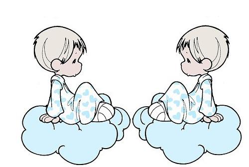 двойняшки на облаках