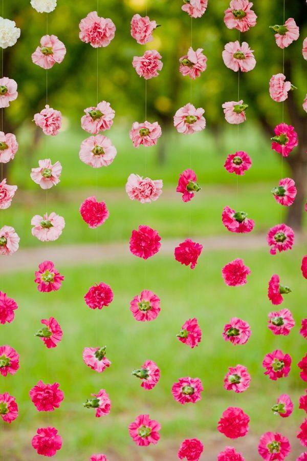 Гирлянды из цветов