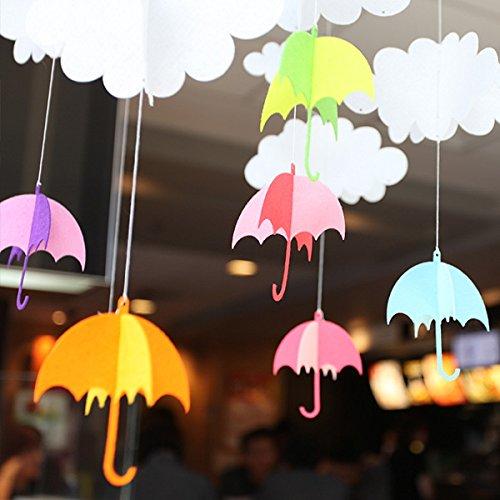 Украшение зонтики