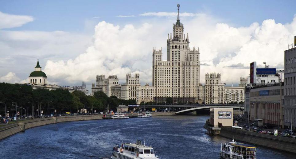 Москва-река (городской участок русла)