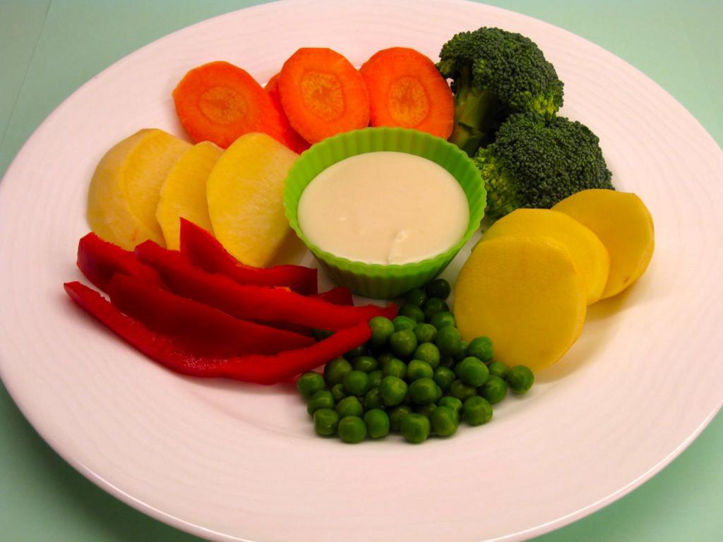 Диета из домашних овощей