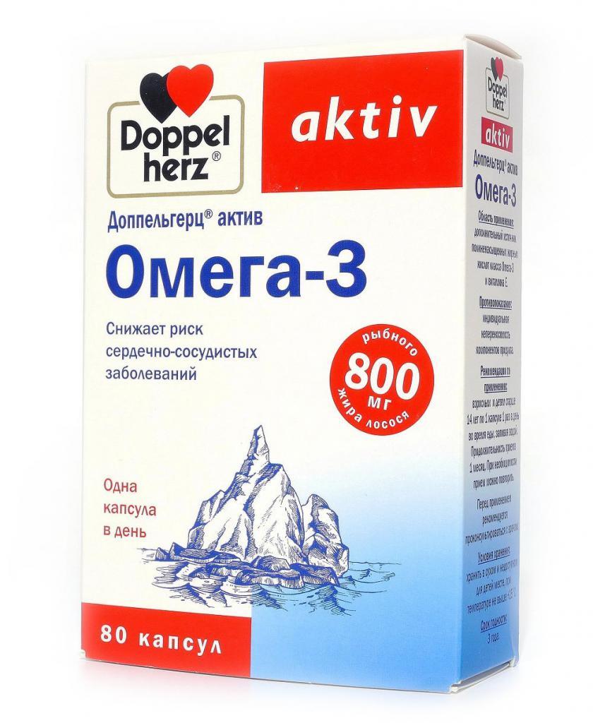 Доппельгерц омега 3 для беременных 24