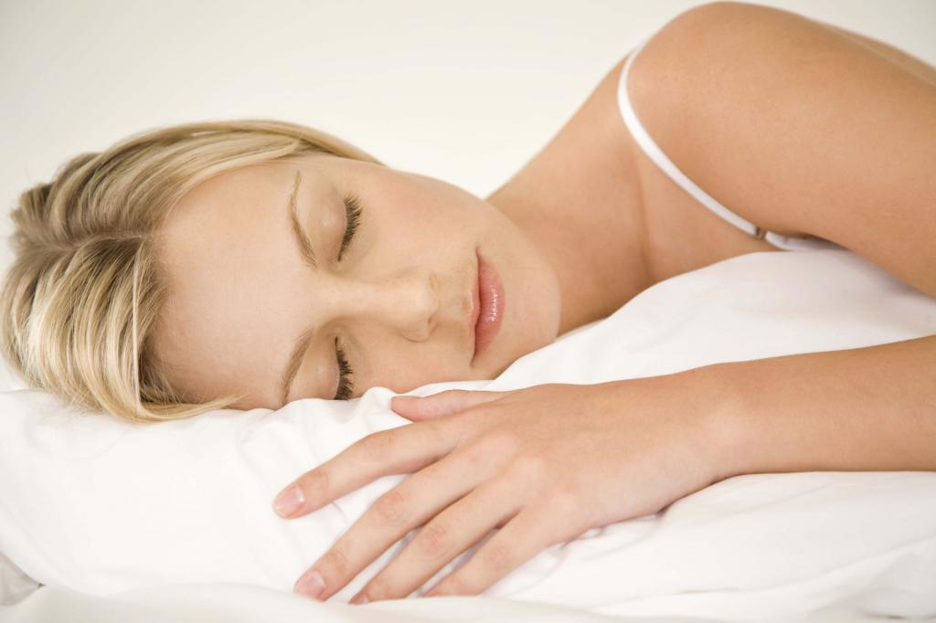 у женщины потеет шея ночью
