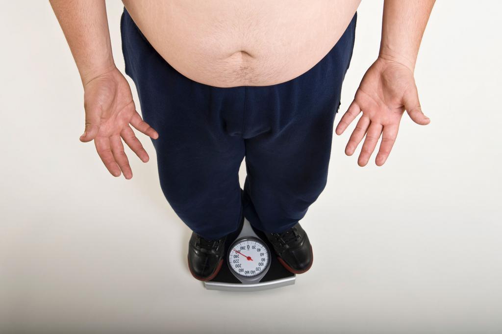 ожирение из-за патологии щитовидной железы