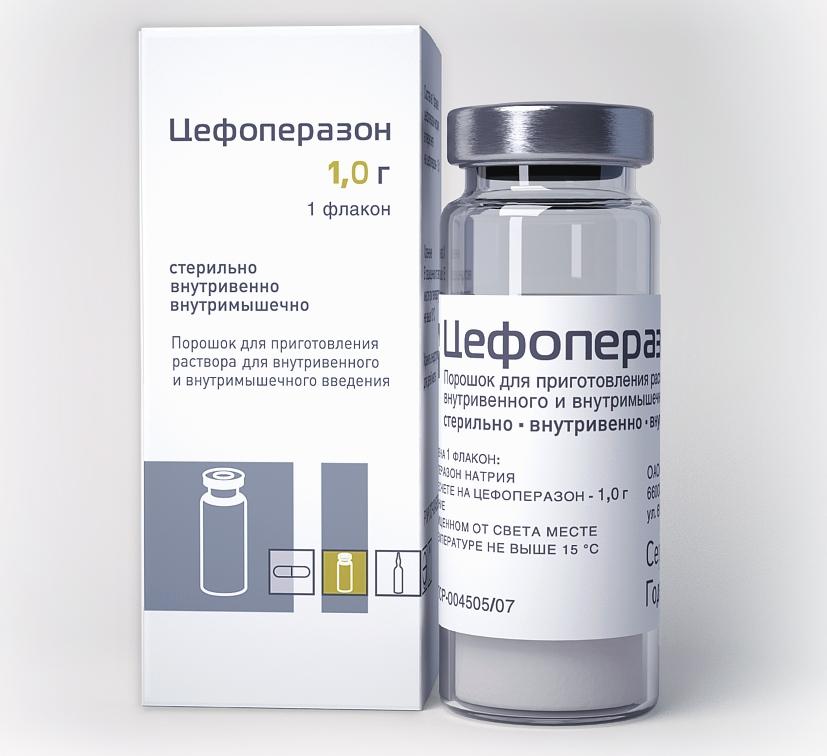 цефоперазон при мочеполовых инфекциях
