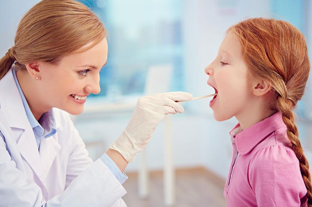 средства от боли в горле для ребенка