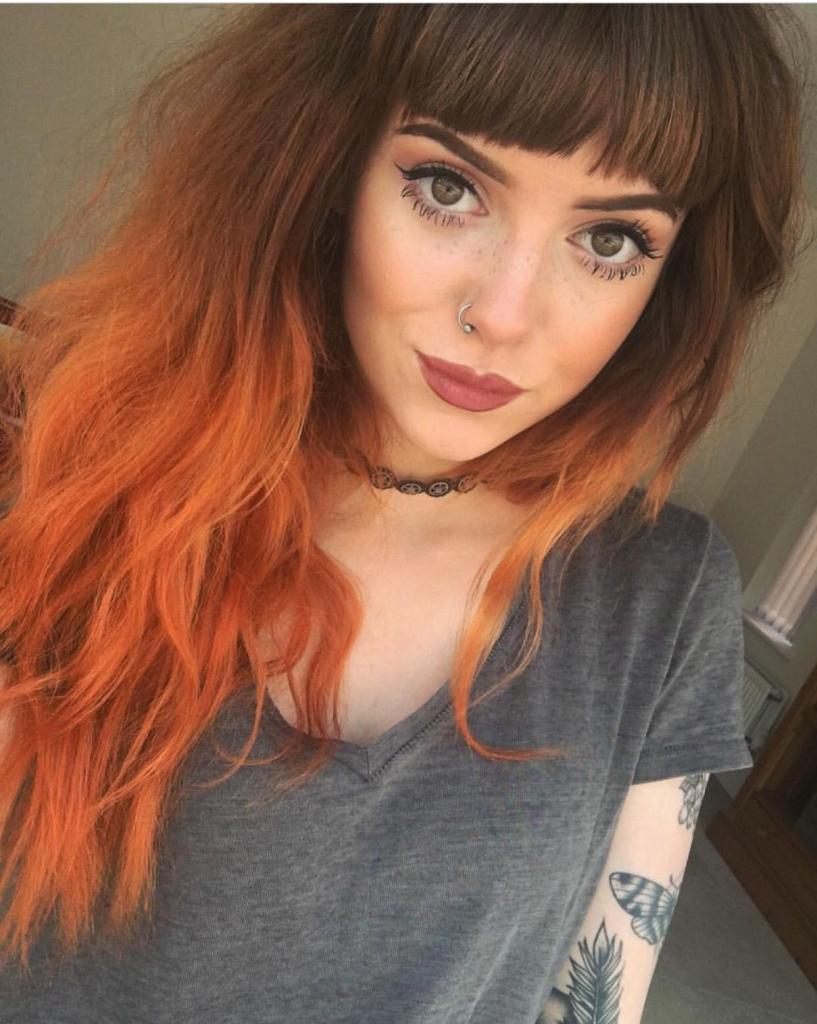 Имбирный цвет волос: фото оттенков, палитра красок, кому подходит