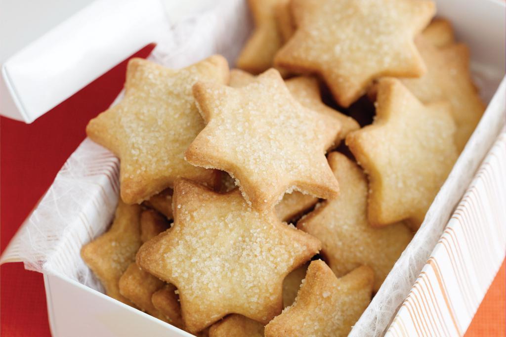 простой рецепт песочного печенья с фото