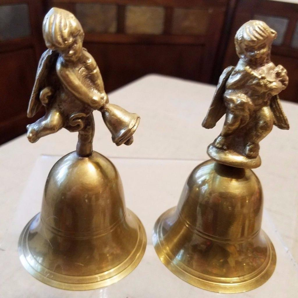 gift bell with an angel