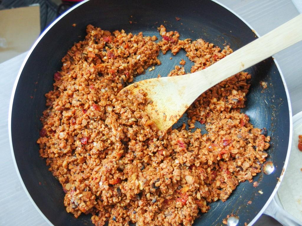 Приготовление соевого мяса